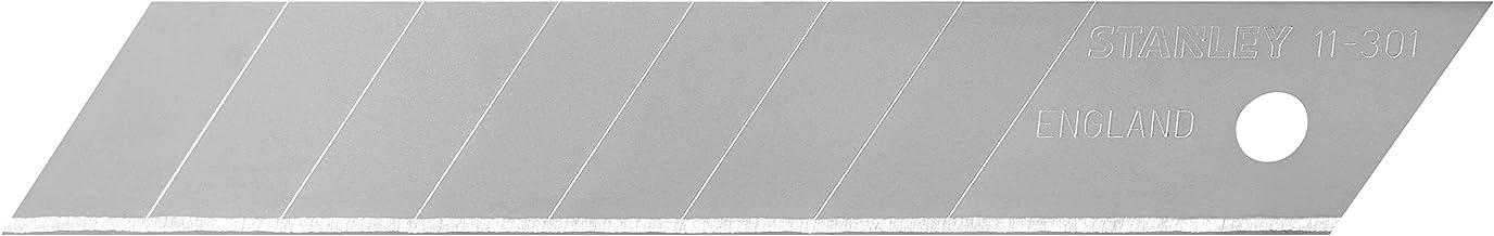 STANLEY Confezione 10 lame a spezzare da 18 mm 0-11-301