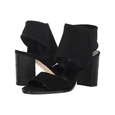 Pelle Moda Grey (Black Suede) Women