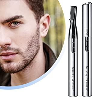 2021年度版 眉毛シェーバー 眉毛カッター レディースシェーバー フェイスシェーバー 眉剃り フェイス用 女性用 顔/腕/脇/足対応 電池式 持ち運びやすい 低騒音 内刃水洗い可 プレゼント 敏感肌可 眉コーム付き