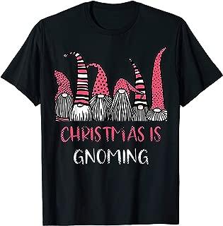 Christmas is Gnoming God Jul Gnome Tomte Xmas Santa Holiday T-Shirt