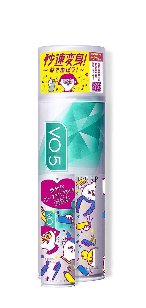 適用する賢明な涙VO5スーパーキープヘアスプレイ エクストラハード無香料330g+エクストラハード無香料20g