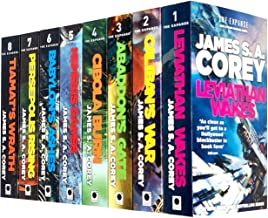 James S A Corey Expanse Series 8 Books Collection Set (Leviathan Wakes, Caliban's War, Abaddon's Gate, Cibola Burn, Nemesi...
