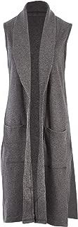 Belle Bird Womens Vests Belle Longline Knit Vest - Coats