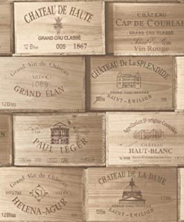 Vineyard Crates One (1) Decorative French Wine Crate - Wooden Box for Wine Storage Wedding Decor DIY Projects Garden Planter Boxes NO Lid NO Storage Inserts (12BtlLarge)