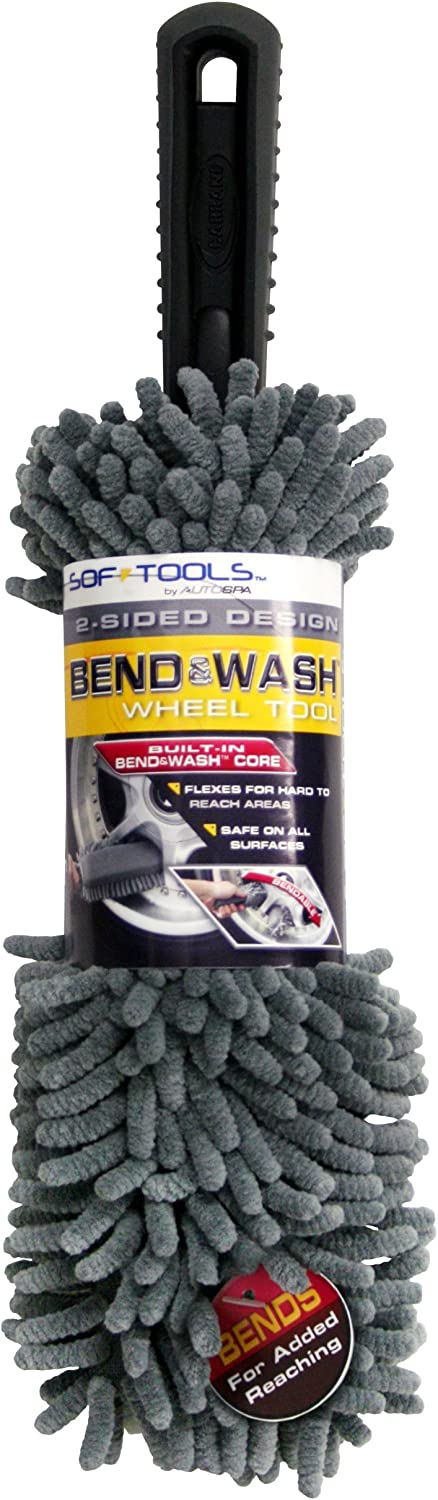 shopping AutoSpa 97373AS Soft-Tools Bend Tool Wheel Wash and