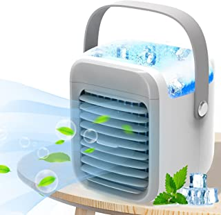 Portable Air Conditioner, Portable Cooler, Quick & Easy Way to Cool personal Space, As Seen On TV, Suitable for Bedside, O...