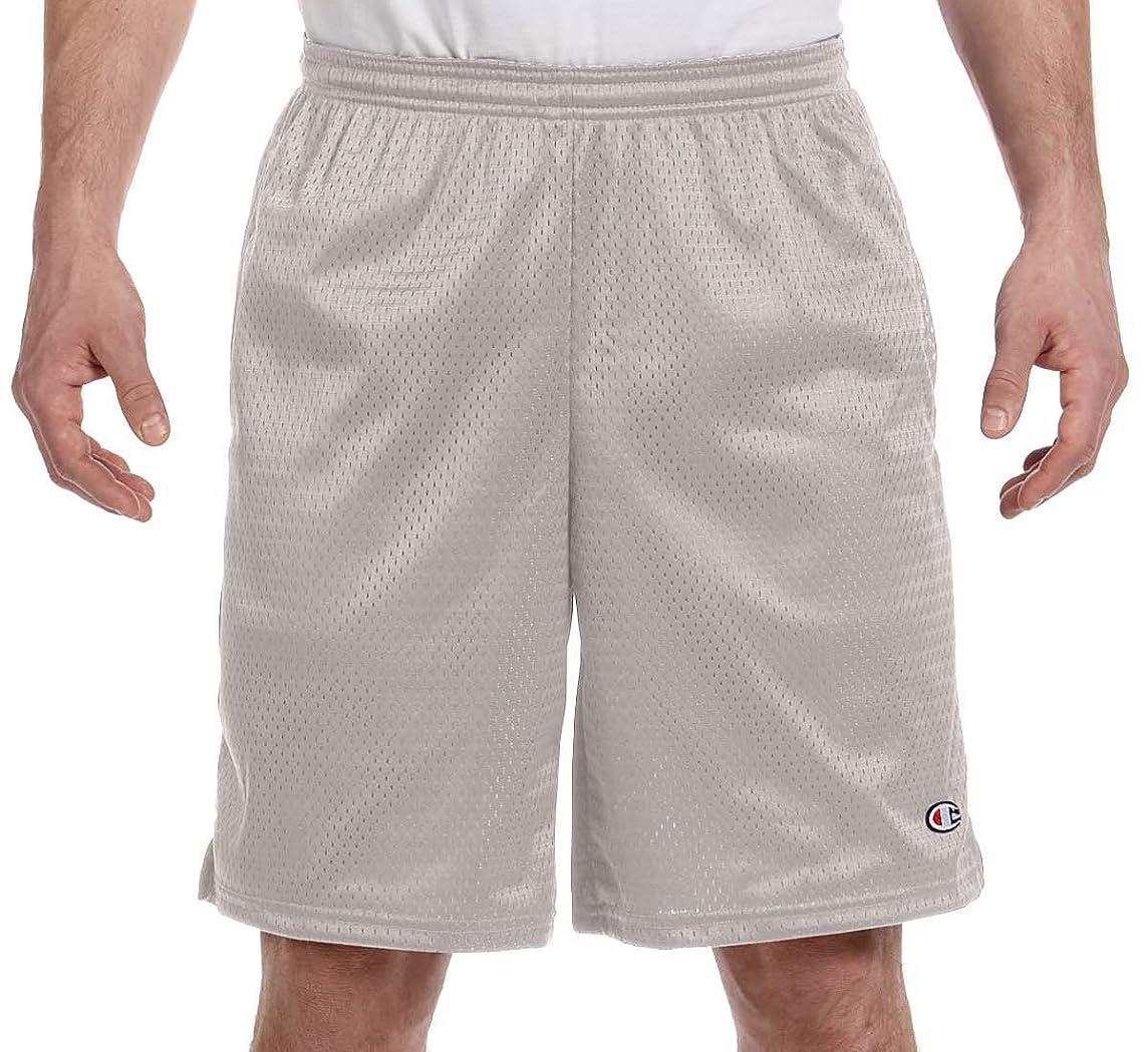 ジャズ再編成する酸っぱいChampion ロングショーツ メッシュ素材 ポケット付き 男性用 US サイズ: X- Large
