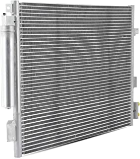 Fits 2011-2016 Chrysler 300 11-16 Dodge Charger Challenger A/C Air Condenser w/Silver Aluminum Core