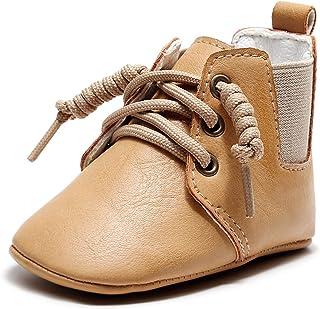 Baby Girls Boys Boots Anti-Skid Warm Winter Booties Ankle Premium Moccasins Toddler Firstwalker