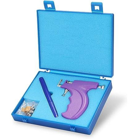 KKmoon Pistola Piercing Macchina Professionale per Piercing All'orecchio per Naso Senza Orecchie