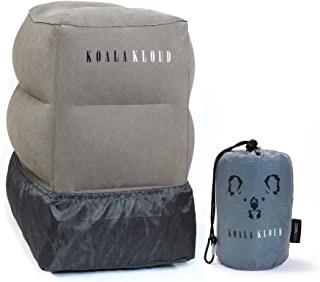 Koala Kloud Inflatable Travel Foot Rest Pillow - Best Kids Travel Pillow for Sleep on a Long Flight/Car Trip/Trains/The Of...
