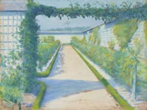 Digital Painting DIY Oil Painting Paint by Numbers Kits for Adult Kids 354 Gustave Caillebotte Garden Vegetable Garden Yerres