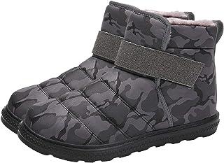 Clenp Botas de nieve, 1 par de hombres y mujeres de invierno impermeables botas de nieve de deportes al aire libre antides...