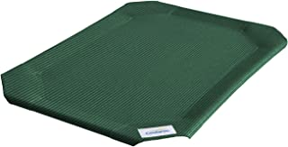 Coolaroo Replacement Pet Bed Cover, Cooling, Washable, Indoor or Outdoor Dog Bed or Cat Bed, Large (L) (LG), Brusnwick Green