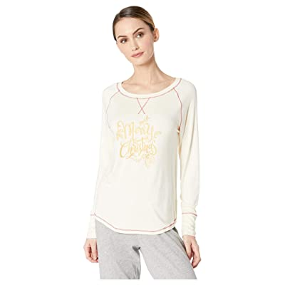Hatley Slouchy Lounge Top (Natural) Women