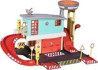 Dickie Toys 203097003 Brandweerman Sam Fire Sation, brandweer-speelset op 2 verdiepingen met die-Cast-voertuig en andere a...