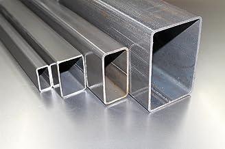 cualquier longitud 100 x 100 x 2 mm a la medida deseada 1 Tubo cuadrado de acero inoxidable V2A 0100