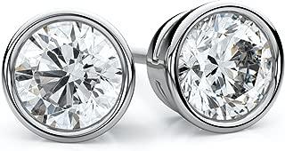 Best diamond cut stud earrings Reviews