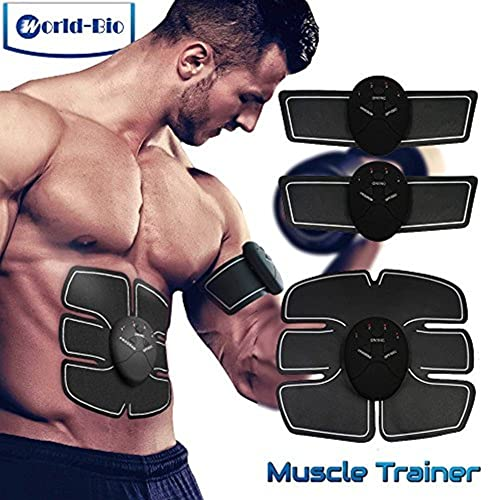 Motivated New Smart Abdominal Muscle Trainer Sticker Electric Pulse Treatment Stickers Gym Abs Muscle Stimulator Pad Fitness Arm Sticker Beauty & Health Skin Care Tools