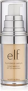 e.l.f. Cosmetics Beautifully Bare Foundation Serum for Radiant Skin, SPF 25, Fair/Light, 0.47 Fluid Ounces