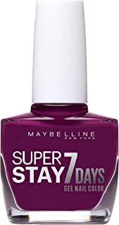 Maybelline Superstay 7 Days Gel Nail Polish, 230 Berry Stain
