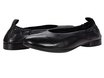 ECCO Anine Classic Ballet (Black Calf Leather) Women