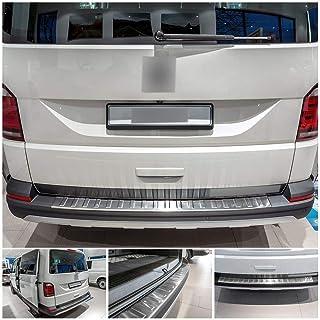 Large Recambo CT-LKS-2510 Protector de Borde de Carga de Acero Inoxidable Cromado para VW T6 Transporter Caravelle y Multivan
