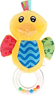 Pixie Duck Rattle Toy