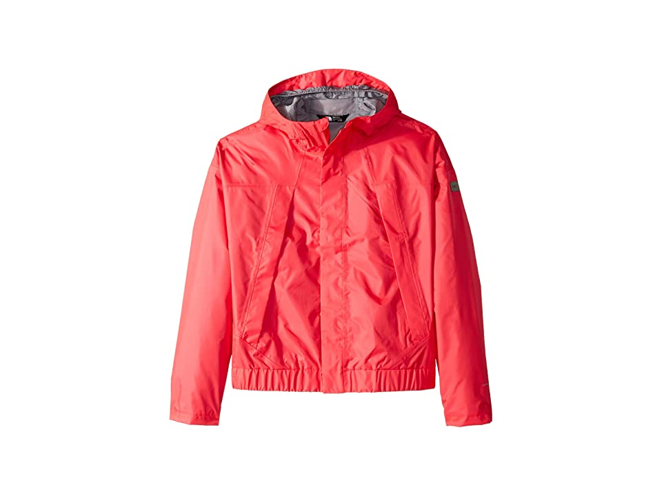 The North Face Kids Precita Rain Jacket (Little Kids/Big Kids) (Atomic Pink) Girl