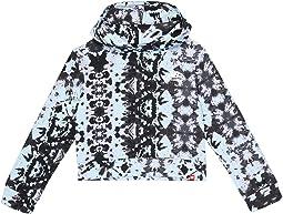 Core Tie-Dye Fleece Hoodie (Big Kids)