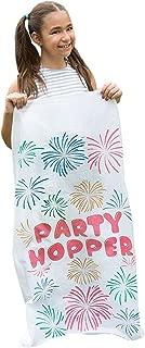 8 Pack - Durable Potato Sack Race Bags, No Weird Burlap Odors, 23.5