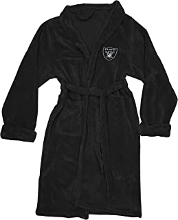 Officially Licensed NFL Men's Silk Touch Lounge Robe, Multiple Sizes, Multi Color