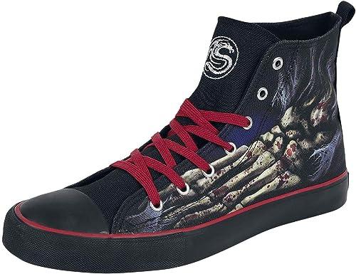 Spiral Foot Bone Hauszapatos negro