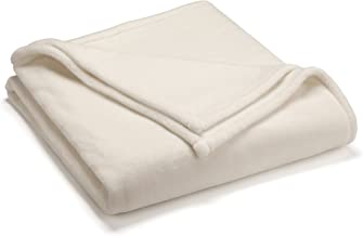 Vellux Sheared Mink Full/Queen Blanket, Ivory