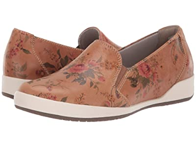 Dansko Odina (Tan Floral Leather) Women