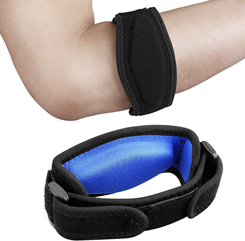 AVIDDA 2 Pack Tennis Elbow Brace With Compression Pad For Women And Men Golfers Elbow Brace For Tendonitis Weightlifting Pain Relief