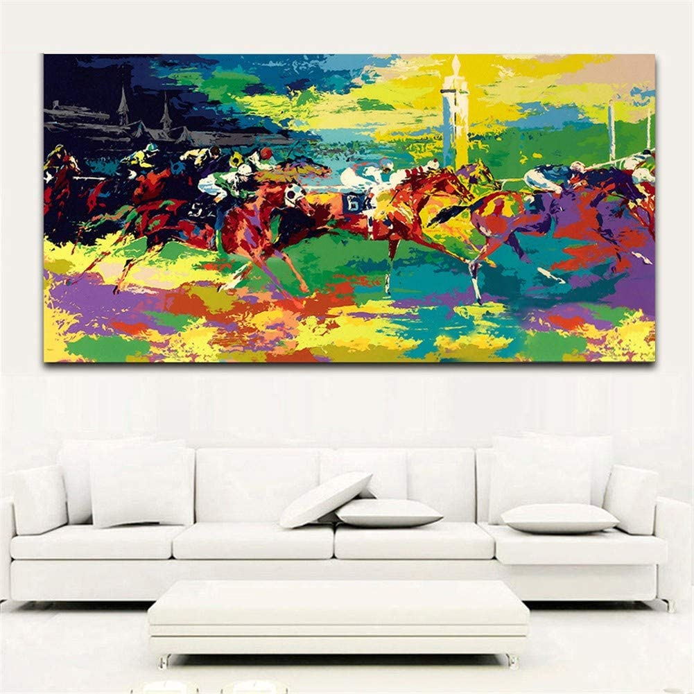 Sale price Diamond Painting by Number Kit Full 100x200 Spring new work Abstract Horse Drill