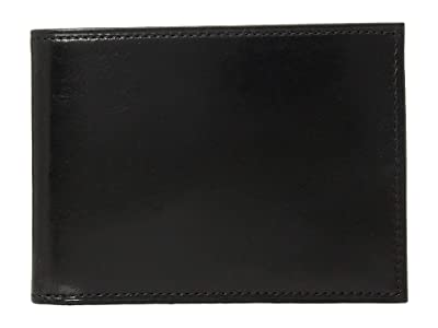 Bosca Old Leather Collection Credit Wallet w/ ID Passcase (Black Leather) Bi-fold Wallet