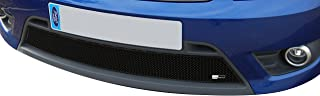 Zunsport Compatible with Ford Fiesta ST - Lower Grill - Black Finish (2006 to 2008)