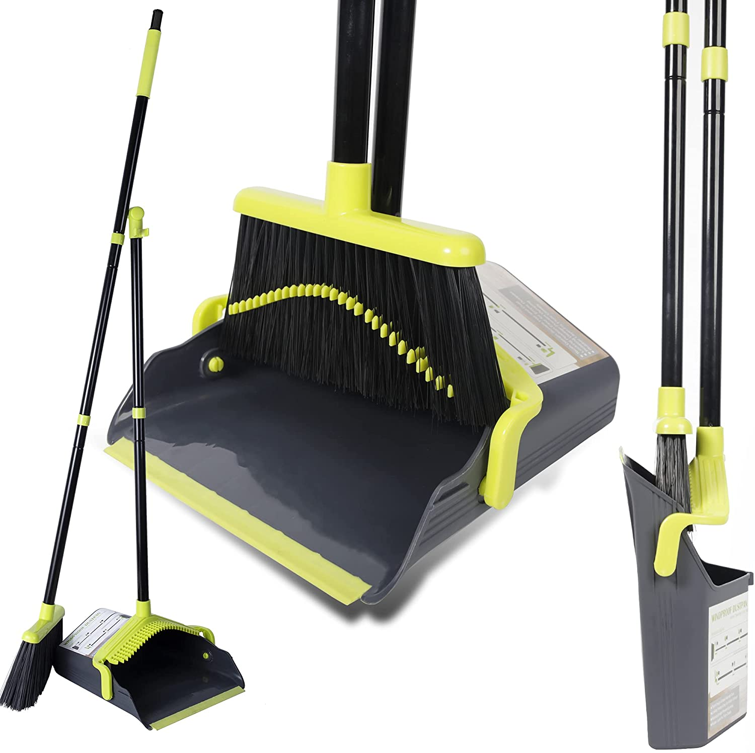 Broom and Special price Dustpan Set for Upright Home I In a popularity 2021