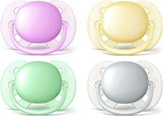 Philips Avent Ultra Soft Neutral Soothers for 0-6 Months Babies, Multi, 2 Count