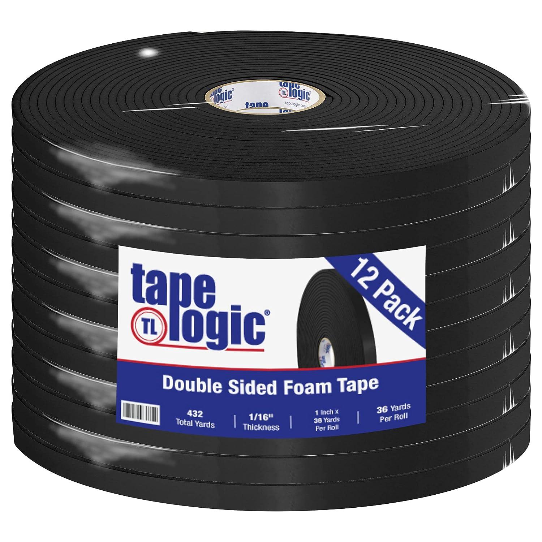 Tape Logic Kansas City Mall Double Sided Foam 1 x 36 yd. 1