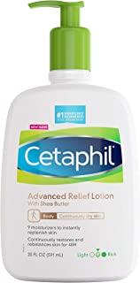 Cetaphil Daily Advance Ultra Hydrating Lotion for Dry and sensitive Skin, Pump Bottle, Fragrance free, 20 Fl Oz, (Pack of 1)