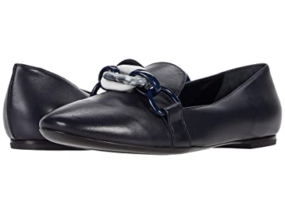 AGL Chain Link Loafer (Navy) Women
