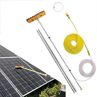 多機能ウォータースプレーブラシ、太陽電池パネルのクリーニング4.5〜12mの格納式、拡張式のクリーニング温室の屋根をトラックのキャラバンウィンドウのクリーニングに使用
