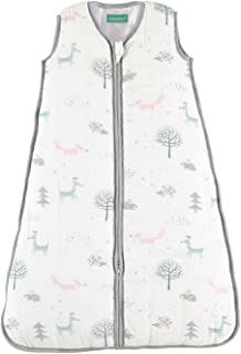 molis&co Sleeping Bag Baby, Super Soft and Warm Muslin Wearable Blanket for Baby,12-18 Months. 35.4