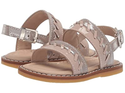 Elephantito Larissa Sandal (Toddler) (Blush) Girls Shoes