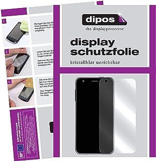 dipos I 2 x skyddsfolie klart kompatibel med Acer Liquid Z6 folie skärmskydd