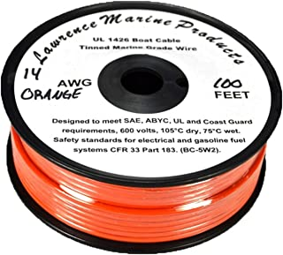 Lawrence Marine 14 AWG Tinned Marine Primary Wire Made in USA