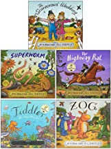 Julia Donaldson 5 Books Collection Set By The Creators of the Gruffalo (The Scarecrows' Wedding, Superworm, The Highway Ra...